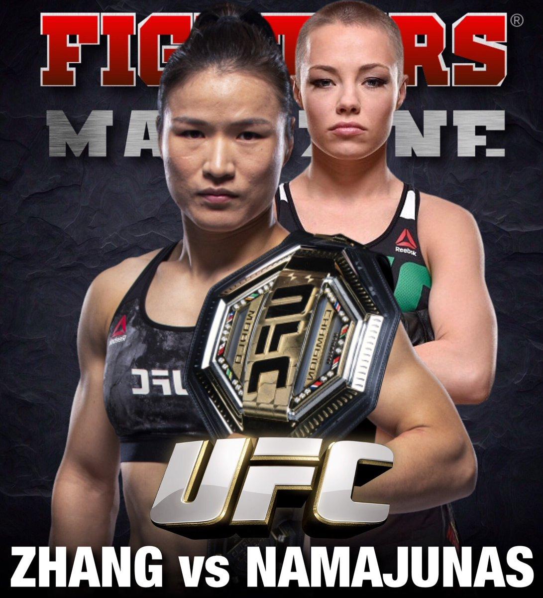 🏆🔥 ¡Tenemos una guerra! Weili Zhang vs Rose Namajunas, se enfrentarán en UFC 261, el próximo 24 de abril. #UFC #UFC261 #MMA shampoo