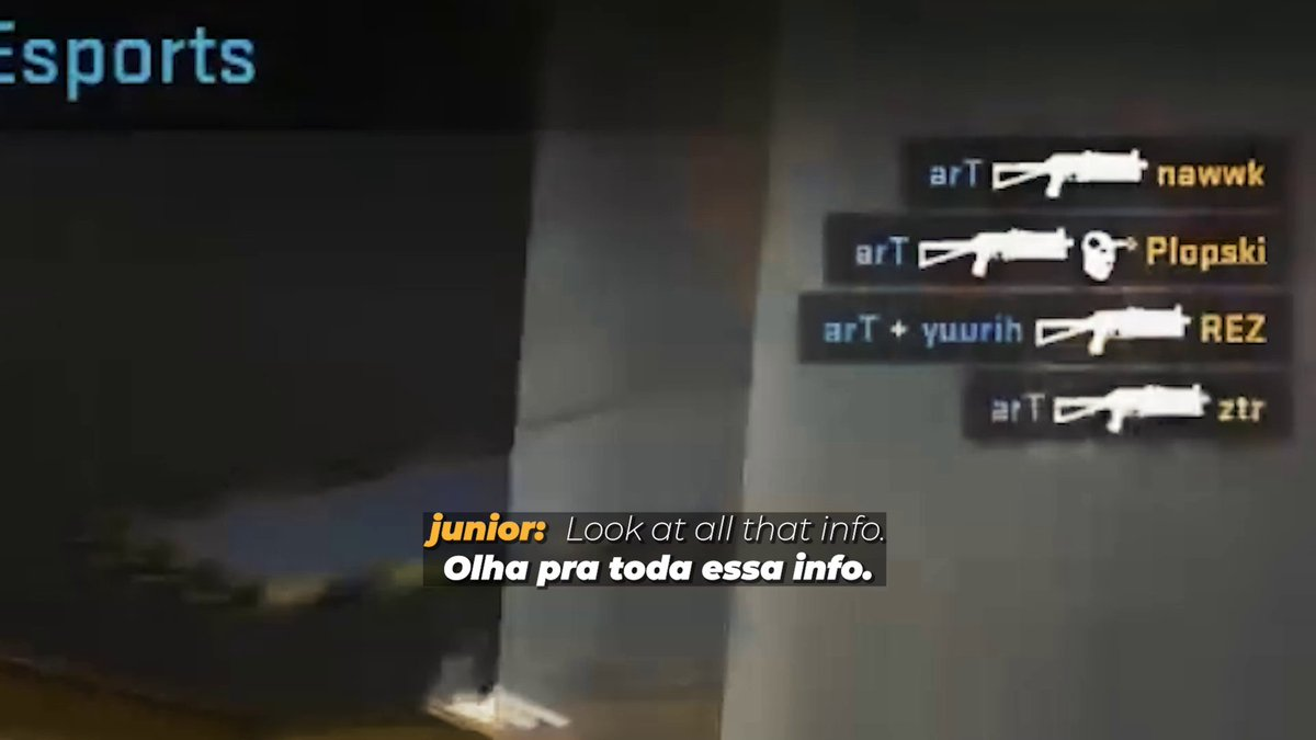one day you are playing a calm & nice game on @TriumphGamingGG and on the other one @arTcsgo is doing a Bizon's 4k just right your side.  watch some moments of @1juniorcs's debut match on our team! ❤️  confiram agora como foi a estreia do juninho na nossa equipe! 🇧🇷  #DIADEFURIA