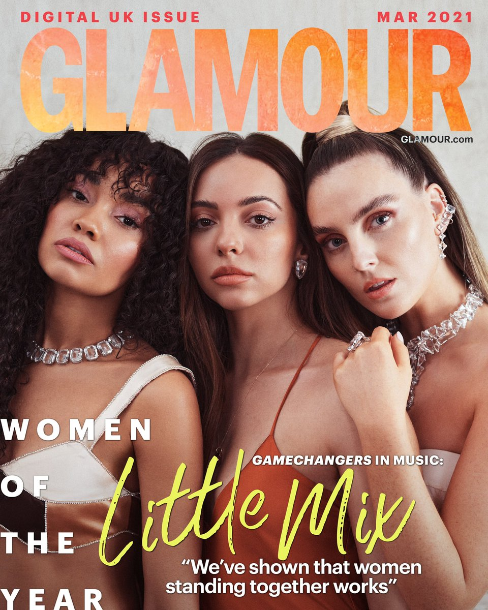 First magazine cover of the year 🤍 Thank you @GlamourMagUK