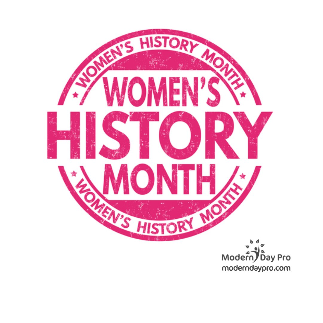 March is #womenshistorymonth. Let's remember to appreciate the contributions of the women in our lives and those before us who did their best to lay a strong foundation for us.  #civilrights #womenhistory #womeninhistory #moderndaypro