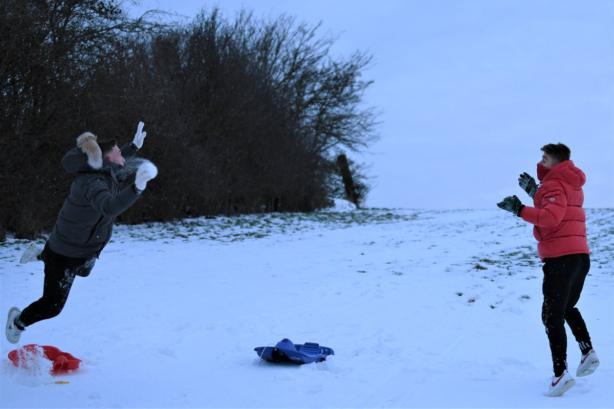 Boys will be boys! Taking time out from a hard day's stretching and yoga photoshoot during the snow from a few weeks ago... ❄🌨 ------------ #sportscoolromford #essex #keepfit #yoga #football #rugby #cricket #athletics #tennis #preschool #afterschool #multisports #forchildren