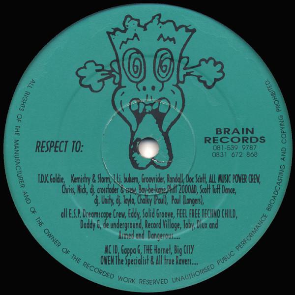 "Bizzy B & D.lux ""Take Control"" (Brain Records, UK 1993)  #Jungle #MondayMotivation"