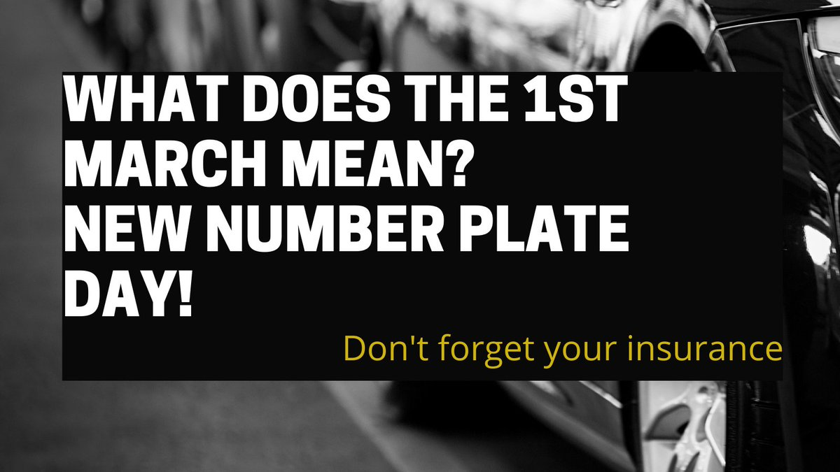 Yes, you are correct the new number plates have been released. Happy Shopping! But don't forget to buy insurance.  #mondaymotivation #wereowloverit