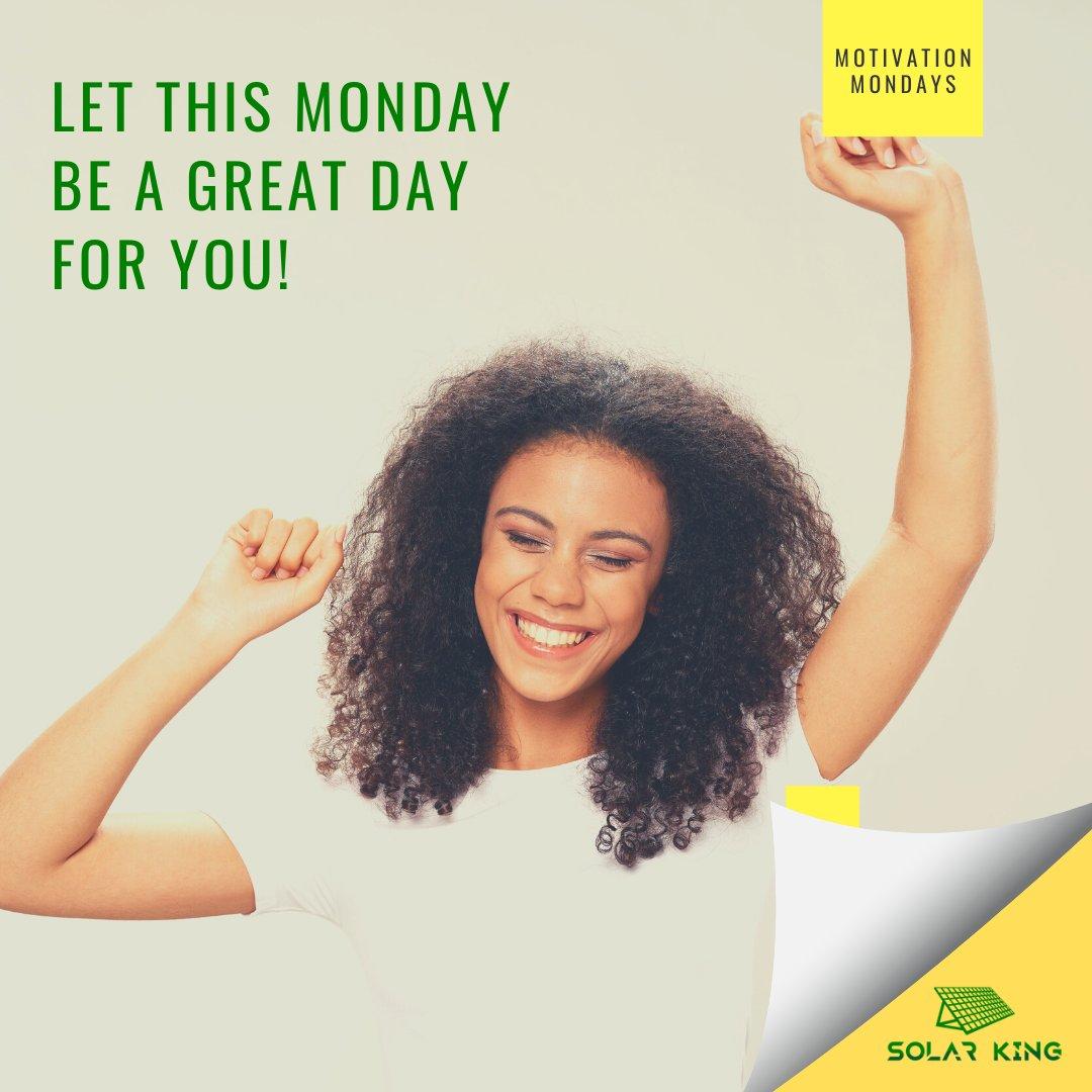 Monday Greatness! #solarking #getsolar #gosolar #renewableenergy #mondaymotivation