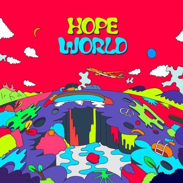 Hoje faz 3 anos desde o lançamento de Hope World, me lembro muito do dia em que foi lançado, fiquei tão encantada, hoseok é tão talentoso, tão incrível! Ele faz com excelência tudo aqui que se propõe em fazer! Feliz 3 anos de Hope World ❤  #3YearsWithHopeWorld #HopeWorldDay