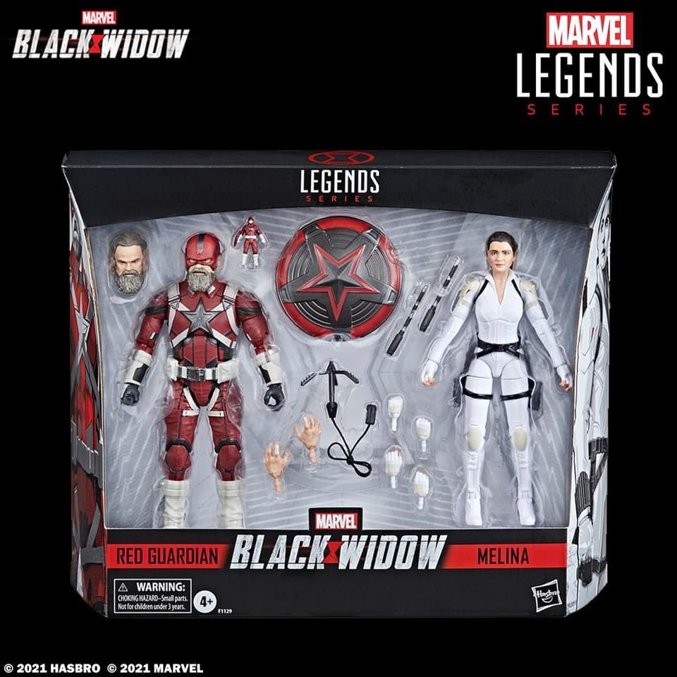 Check out the Hasbro Marvel Legends Series Red Guardian & Melina Vostokoff 2-Pack based Marvel Studios #BlackWidow.  Looks like Red Guardian action figure is holding his own action figure!?! 💥   Hasbro Pulse  