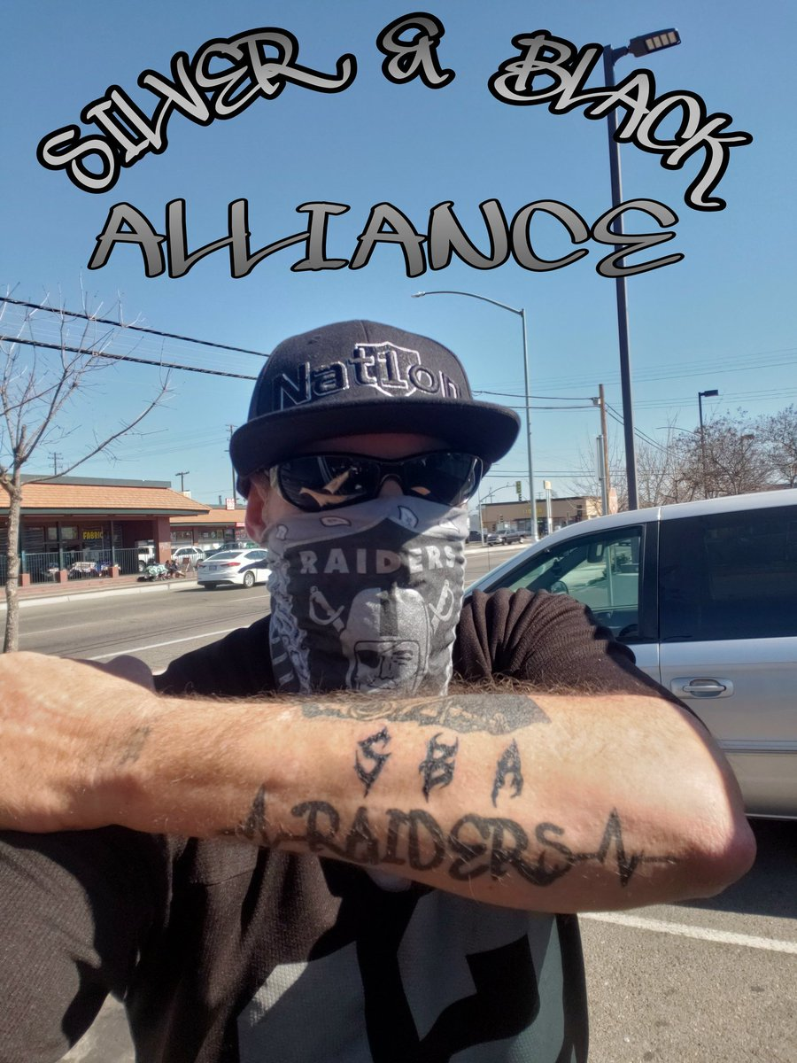 💯💯loyal to the RRAAIIDDEERRSS @RAIDERS @raiderettes #Raiders #Raiderettes #R8RN4L #RaiderNation #BuiltRaiderTough #JustWinBaby #silverandblack #ALWAYZREPN #Loyalasfuck #PROUDLYHATED #SBA4LIFE #SBAinc 💀🖤☝☠🏴☠️🖤 @SBAIndustries