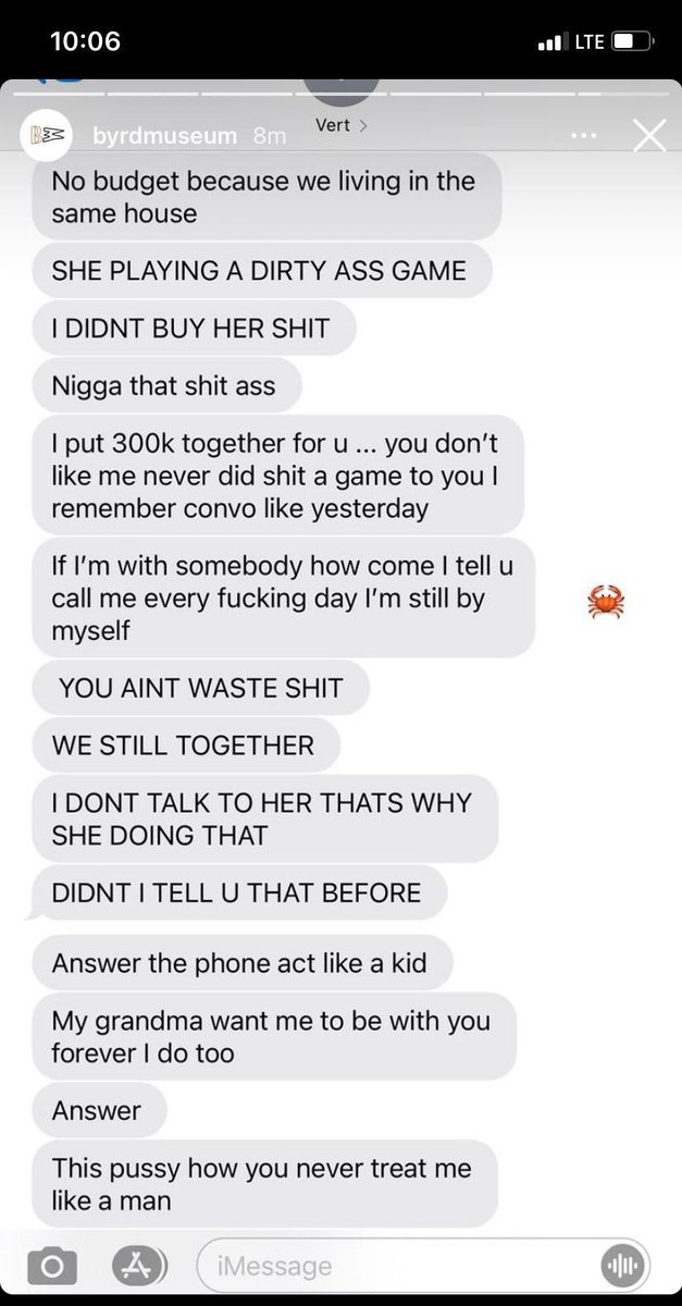 Lil Uzi Vert's Ex Brittany exposed these text messages after he revealed his love for JT last night‼️👀