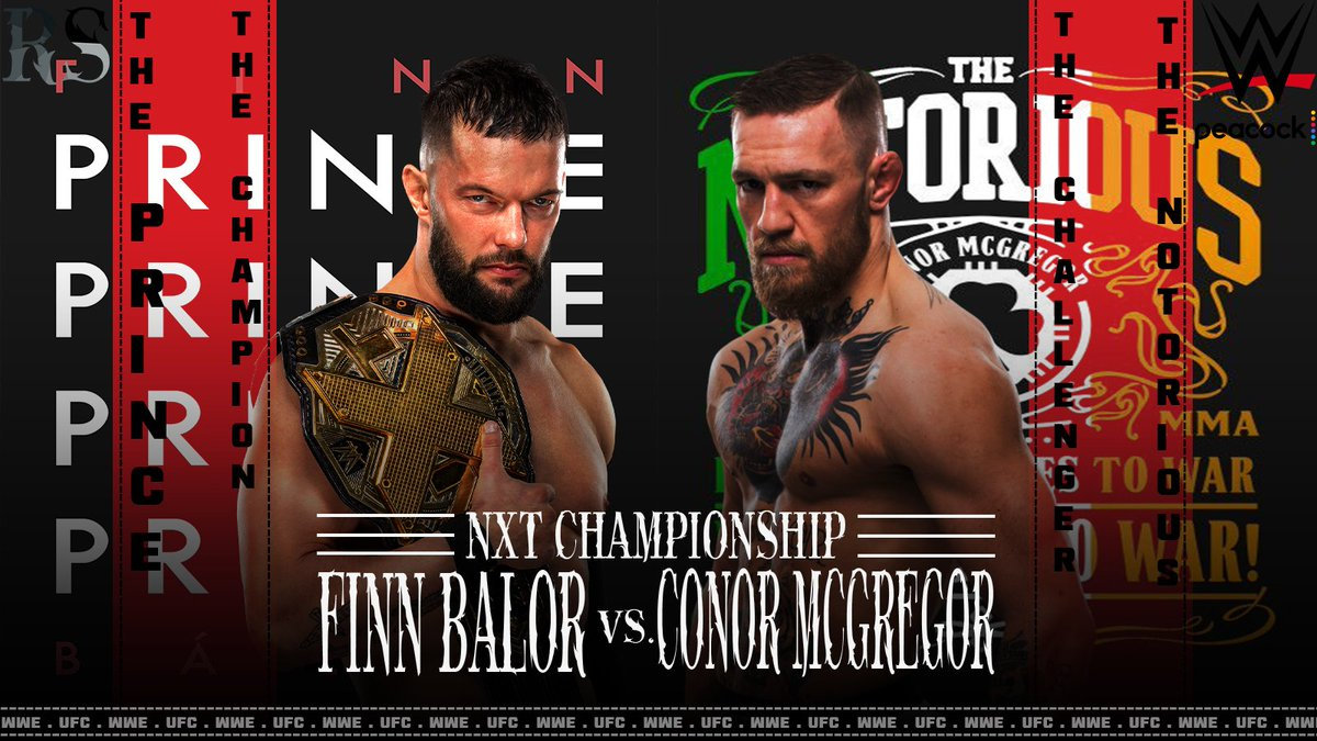 Two Superstar Of Two Different Sports, Will We See This Match In WWE ? #WWENXT #UFC #WrestleMania #FinnBalor #ConorMcGregor #RSEdits @FinnBalor @TheNotoriousMMA @TripleH .