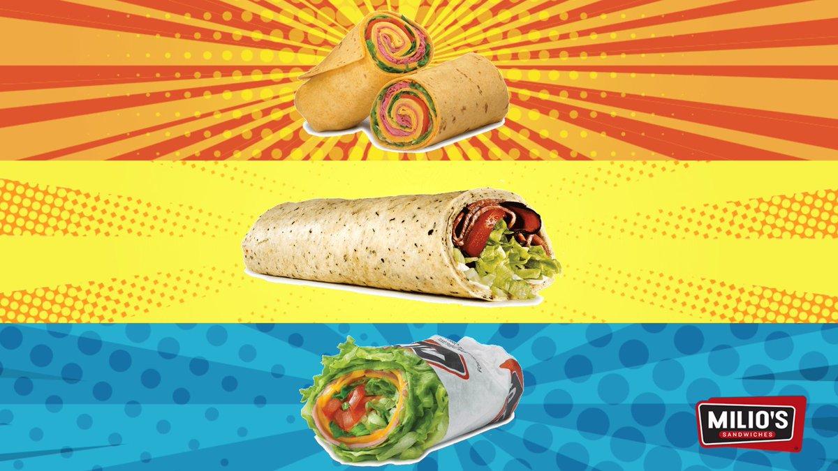 Wrap up your weekend with Milio's! Your tastebuds will thank you. 🤝  #MiliosSandwiches #Iowa #Minnesota #Wisconsin #weekendmood