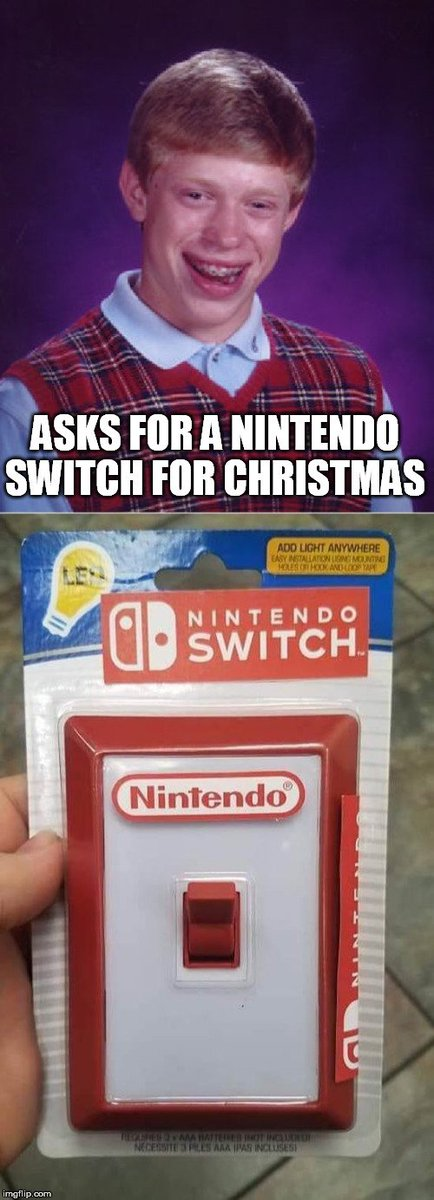 #FreeSwitch don't know how the switch got arrested but I'm not bailing him out. Because I got the wrong switch last Christmas.