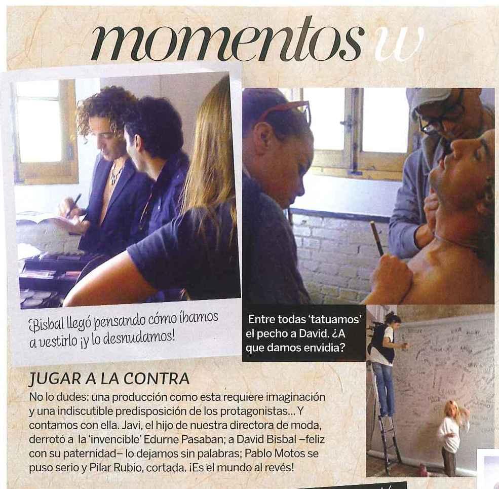 Recuperamos de los archivos la foto que hoy ha puesto @davidbisbal en Instagram. Es de la revista Woman (España), número de noviembre de 2009 -David Bisbal