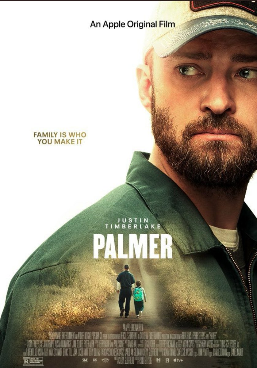 #PalmerMovie AWESOME movie 12 / 10 great message and @jtimberlake is a great actor, done forget Ryder Allen this little guy have a bright future!!!!