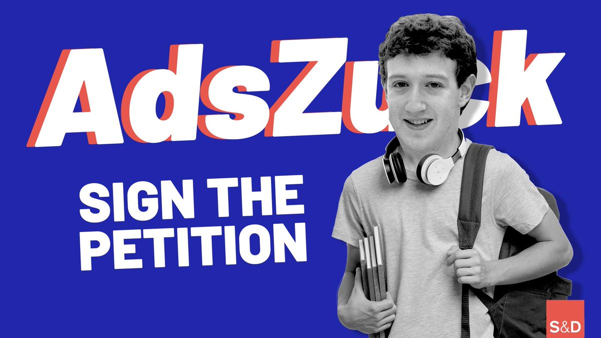 The last time the EU regulated on digital services, #Zuckerberg was still in high school, while Twitter and YouTube didnt even exist! So much changed since then.  Join the #AdsZuck campaign to stop Big Tech from exploiting your online privacy 👉adszuck.com