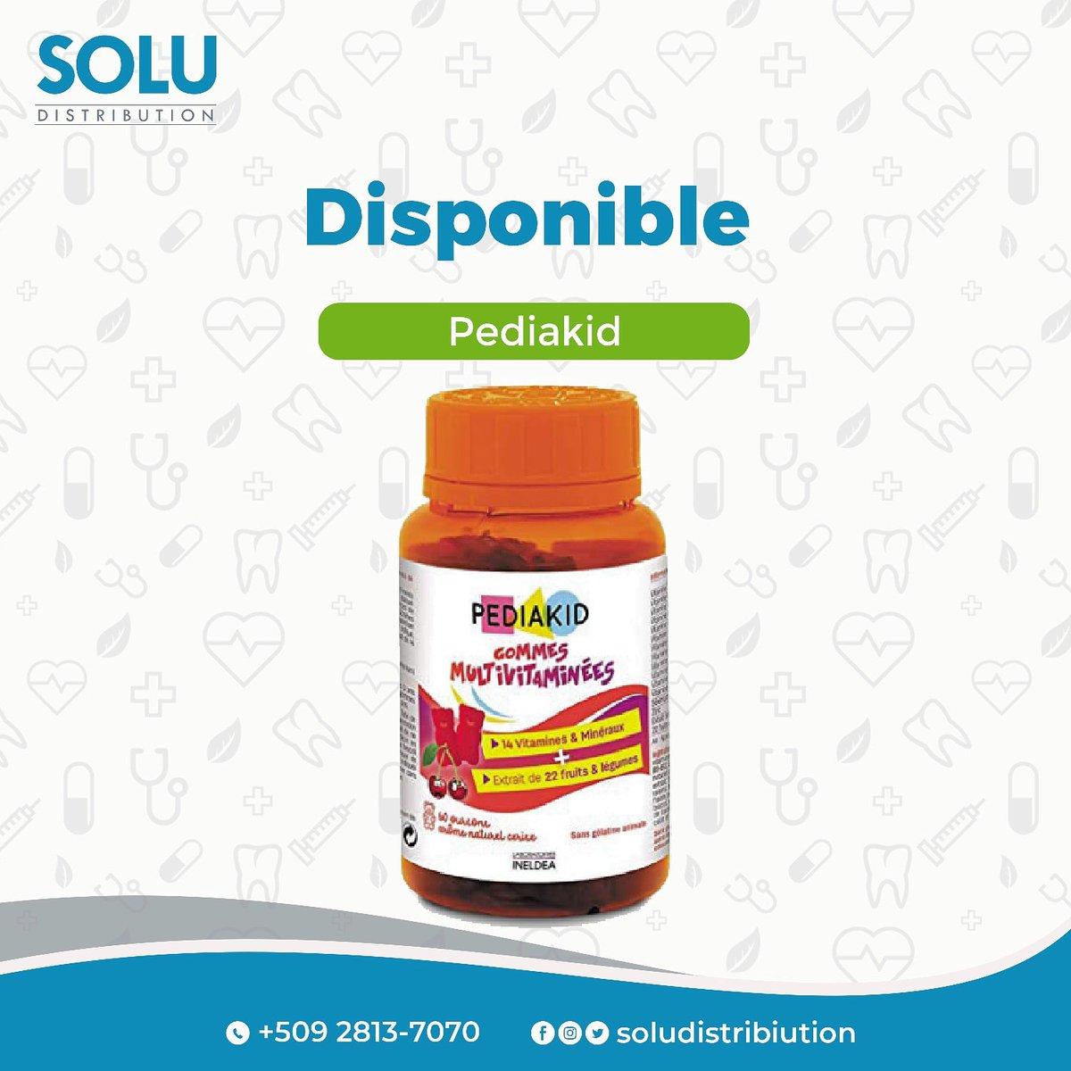 Pediakid Multivitamines #pharmaprixhaiti #ayiti #ayiti509 #haiti #haiti509 #vitamins #pharmaceutics #pharmacognosy #healthy #farmasi #kids #Bébé #baby #sirop #pharmaceutical #vitamins #multivitamins #ayitipharmacie #haitipharmacie. #ayitifamasi