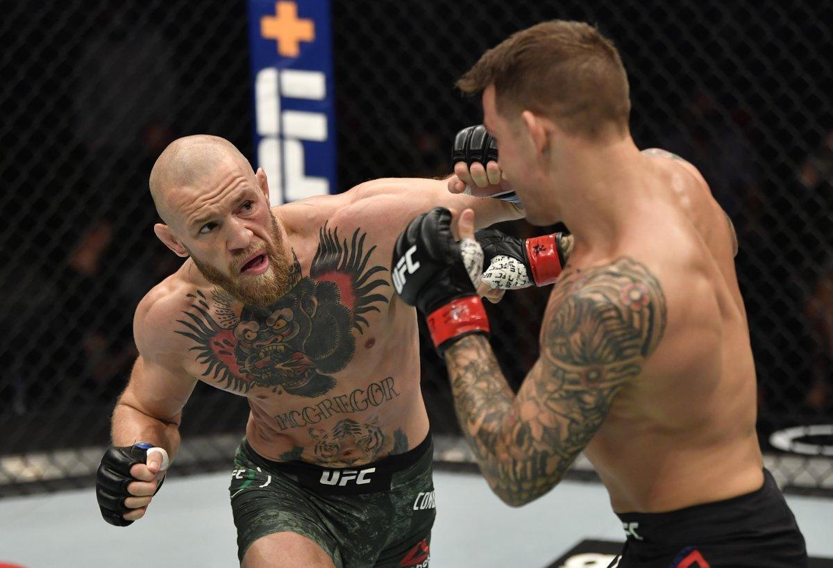 """🗣""""Óriási a nyomás, amikor belépsz a ketrecbe, ezért is lepett meg, hogy Conor McGregor ennyire nyugodt volt. Igazából akkor nyújtja a legjobb teljesítményt, amikor ****fejként viselkedik.""""  -Dustin Poirier (Forrás: Joe Rogan Experience podcast)  #UFC #ConorMcGregor #MMA #Poirier"""