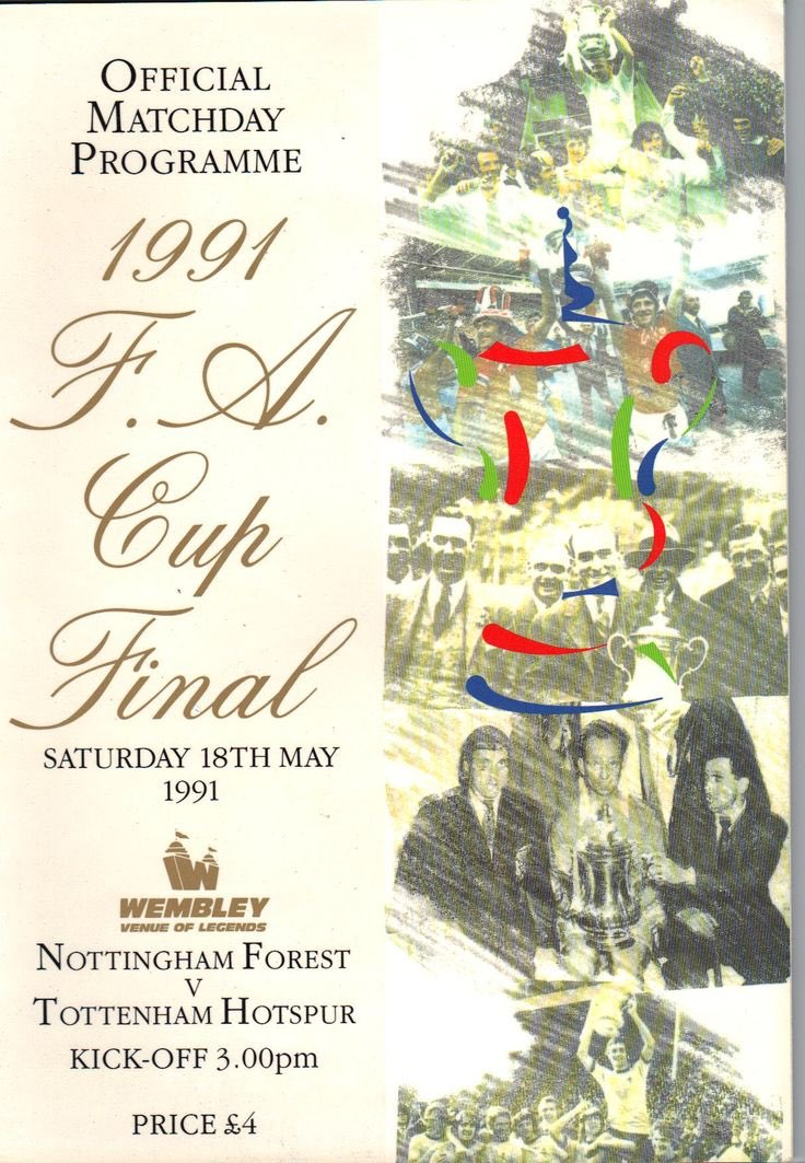 You just had to be there. #FACupfinal1991 #FACUP #THFC
