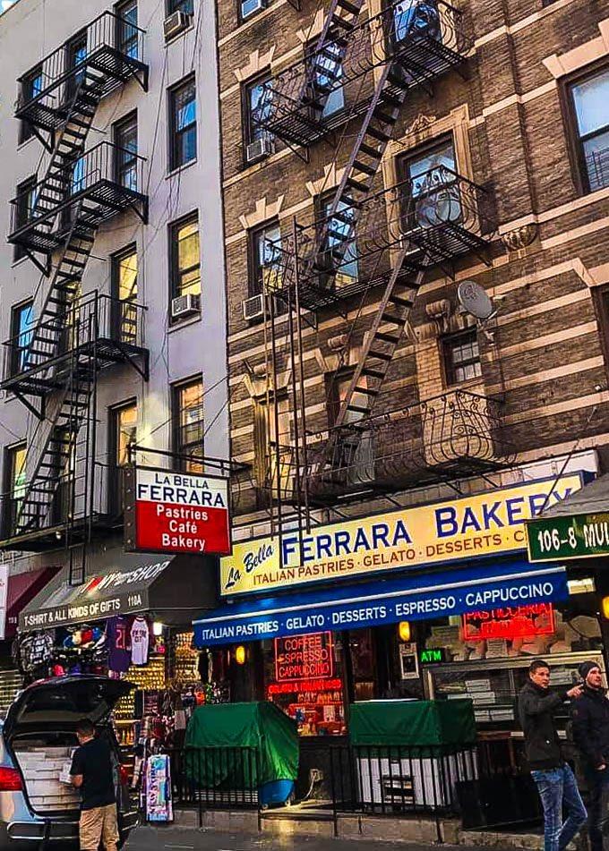 Little Italy the photograph was taken before the coronavirus #NewYorkCity #NewYork #NYC #LittleItaly #photography #cityphotography #photo #streetphotography #picture #PhotoOfTheDay
