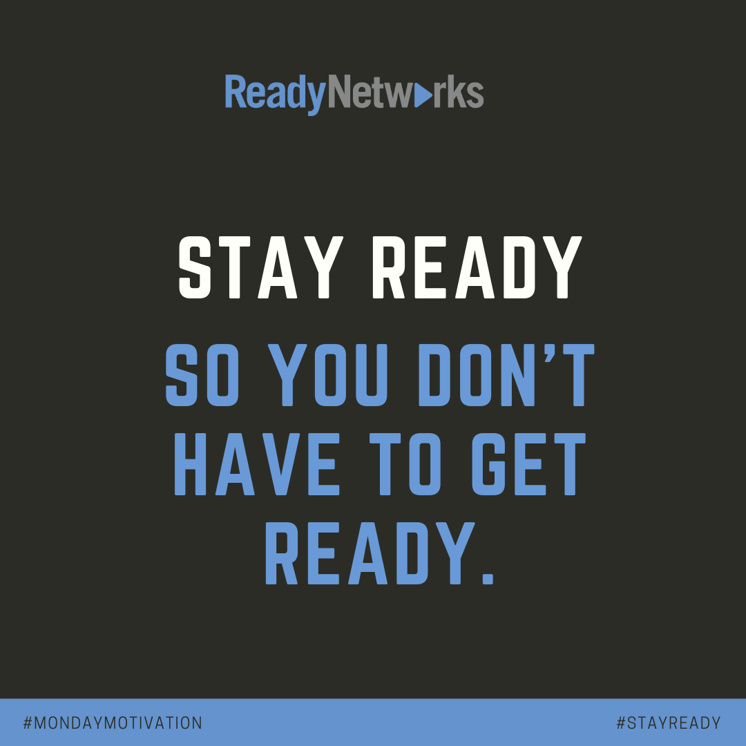 #MondayMotivation: Stay ready so you don't have to get ready! For our partners & clients, we incorporate pillars of operational excellence, #security, reliability, performance efficiency & cost optimization into the cloud architecture so the systems are always ready.