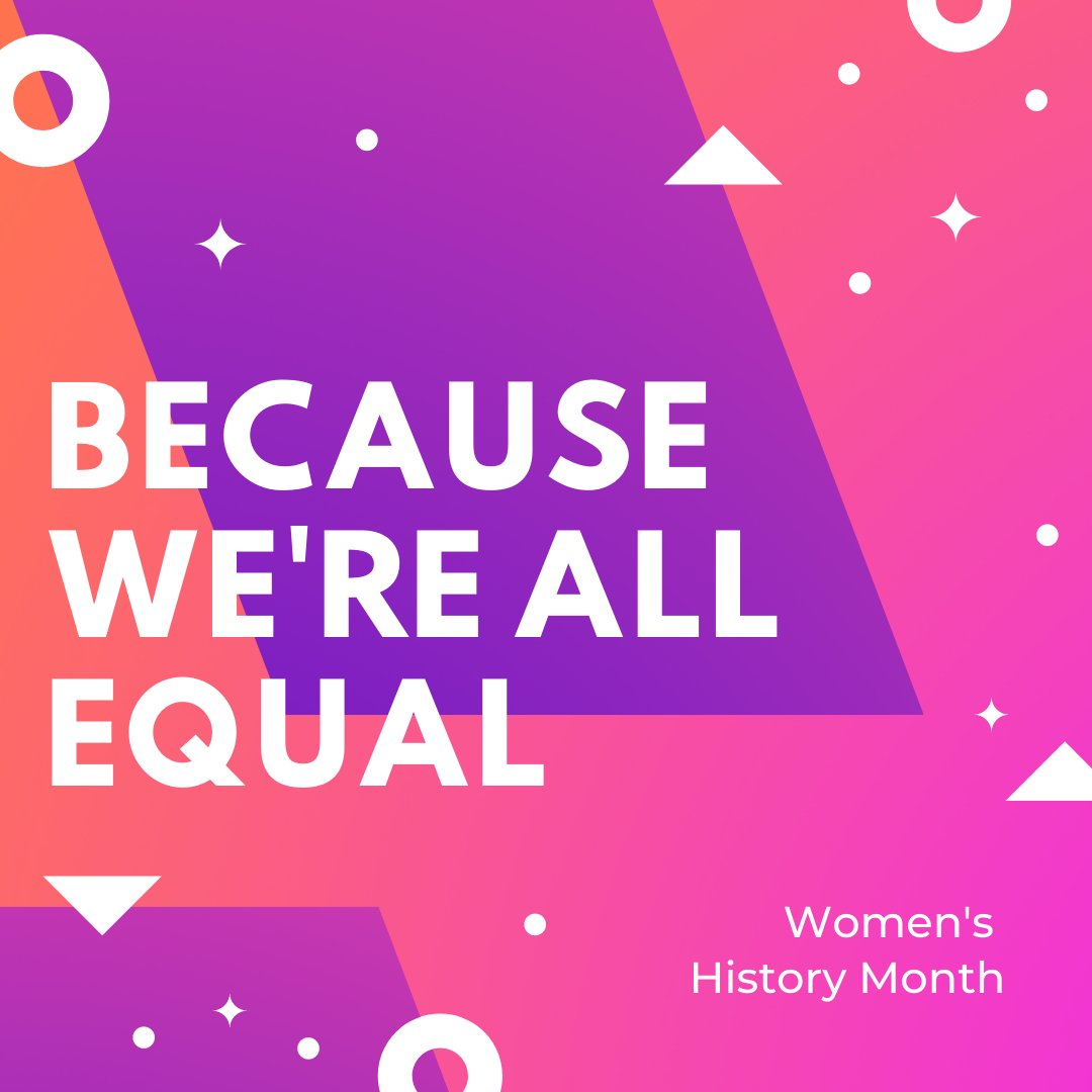 Join us each week as we recognize the contributions women have made to the United States and learn about the increased equal rights access many have fought and are still fighting for! . . #womenshistorymonth #herstory #whm  #shapetheworld #inspiration #education #afterschool