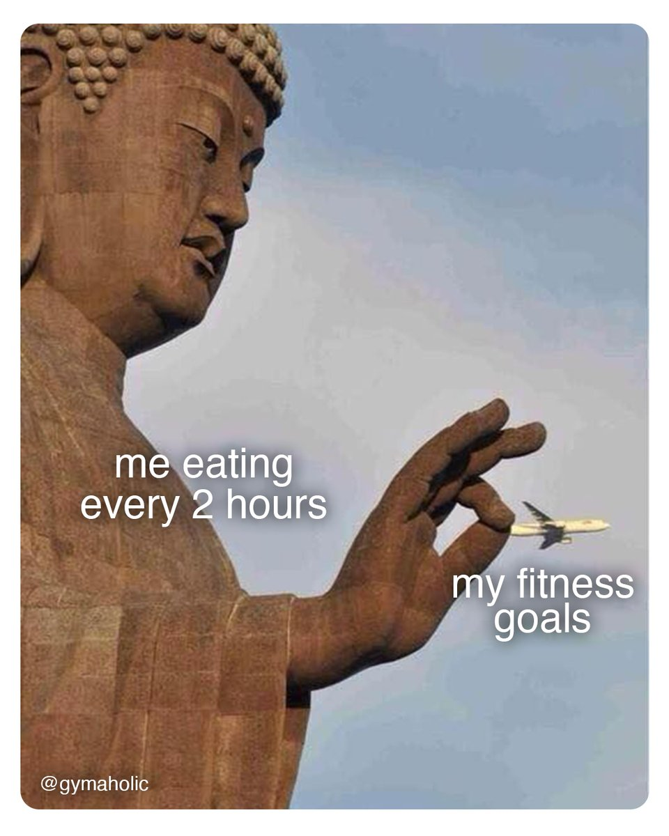 Me eating every 2 hours vs. my fitness goals  Gymaholic App:   #fitness #motivation #meme #gymaholic #workout