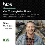 Join BIOS and Tad Hussey from KiS Organics to learn about the deregulated and confusing world of cannabis production products in our webinar on Tuesday, March 9th!   Sign up here - https://t.co/wdzQEhLVMg