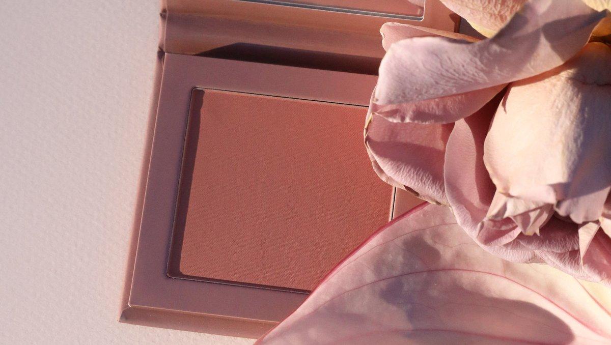 Fuzzy Pink Blush - A matte soft warm rose shade