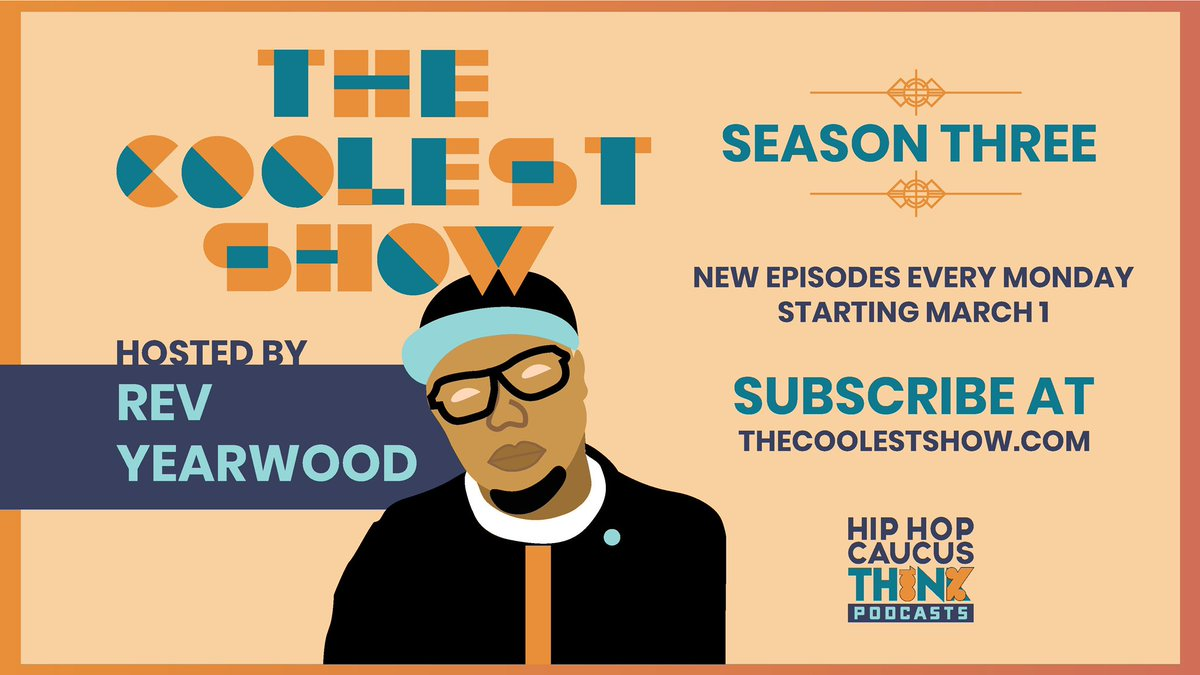 Congrats to our Board Member @RevYearwood on Season 3 of #TheCoolestShow podcast. It's back today on the 1st day of #WomensHistoryMonth w/ a new episode featuring all Black women guests. Listen now & subscribe today at ! #Think100 #365Black #DiversifyGreen