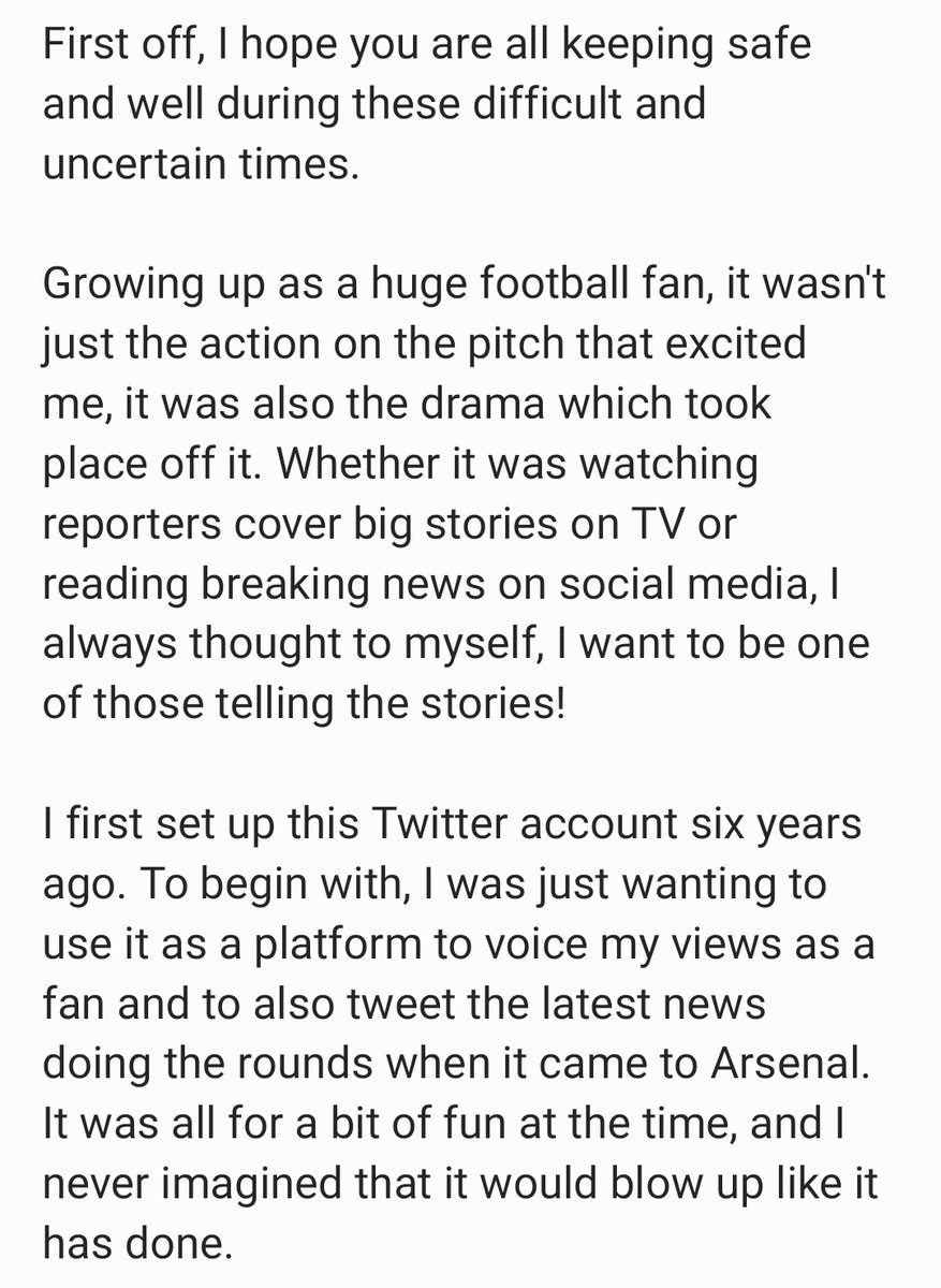 I was a bit reluctant to tweet this at first, but after lengthy consideration, I thought it was worth a shot.  Please read, please share - it would mean so much.  Thank you for all of your help & support, not only now, but in the last few years.  #ArsenalFamily 🔴⚪