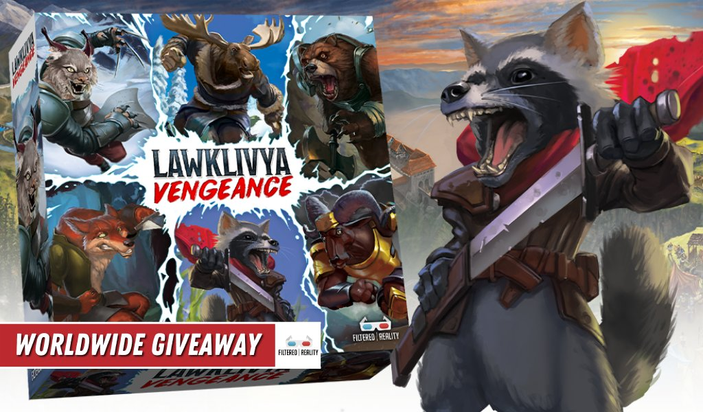 Contest: Lawklivya Vengeance Giveaway (through March 3)  #contest