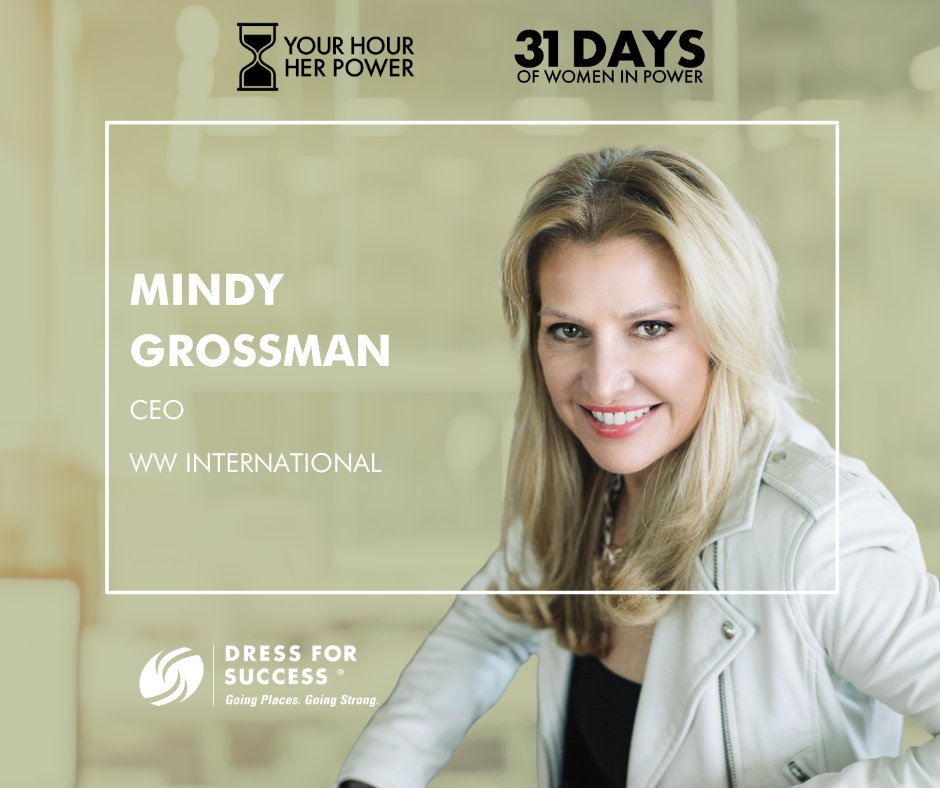 Join our CEO @mindygrossman & @dressforsuccess by participating in the  #YourHourHerPower campaign because when a woman has access to opportunities that can change her life for the better, she becomes powerful beyond measure. #PledgetoGive to help support: