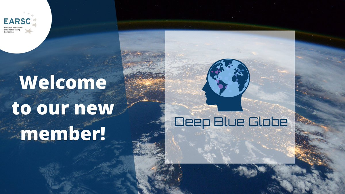 📢Welcome to our new member @deepblueglobe! They create artificial intelligence solutions for the #maritime industry and #environment based on Earth Observation data and satellite. Learn more about our new member➡️deepblueglobe.eu