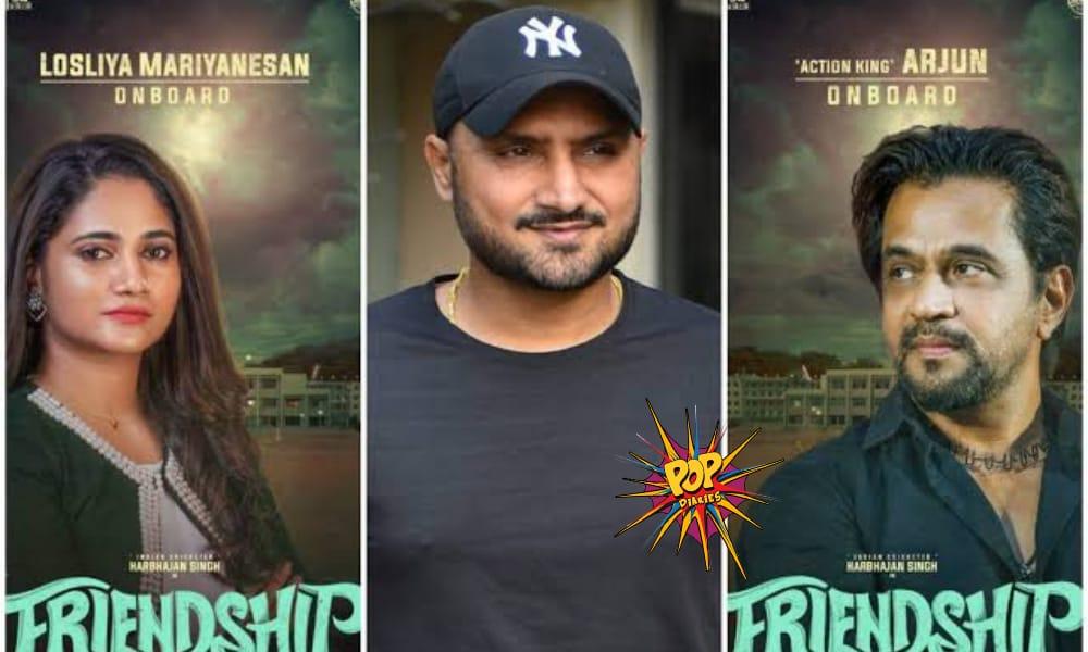 Harbhajan Singh Uploads Teaser of his upcoming Movie 'Friendship'; Twitter Reacts #HarbhajanSingh #FriendshipMovieTeaser #FriendshipMovie #Bhajji  👇👇👇👇