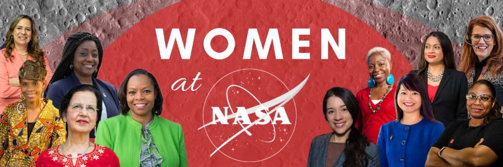 It's our favorite time of year, #WomensHistoryMonth 🥳✨   Follow along at , as we celebrate the past, present, and future women at @NASA. Tag @WomenNASA & share whose legacy inspires you for a chance to be featured in a @Twitter moment at the end of March!