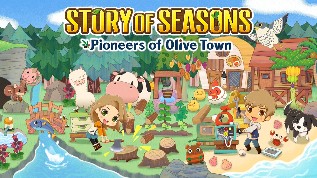 I've been playing Story of Seasons: Pioneers of Olive Town! Y'all know these chill games are my jam. It still feels like SoS, but with several new mechanics. Take the base SoS formula, add My Time at Portia and Sprinkle a little Animal Crossing in there.