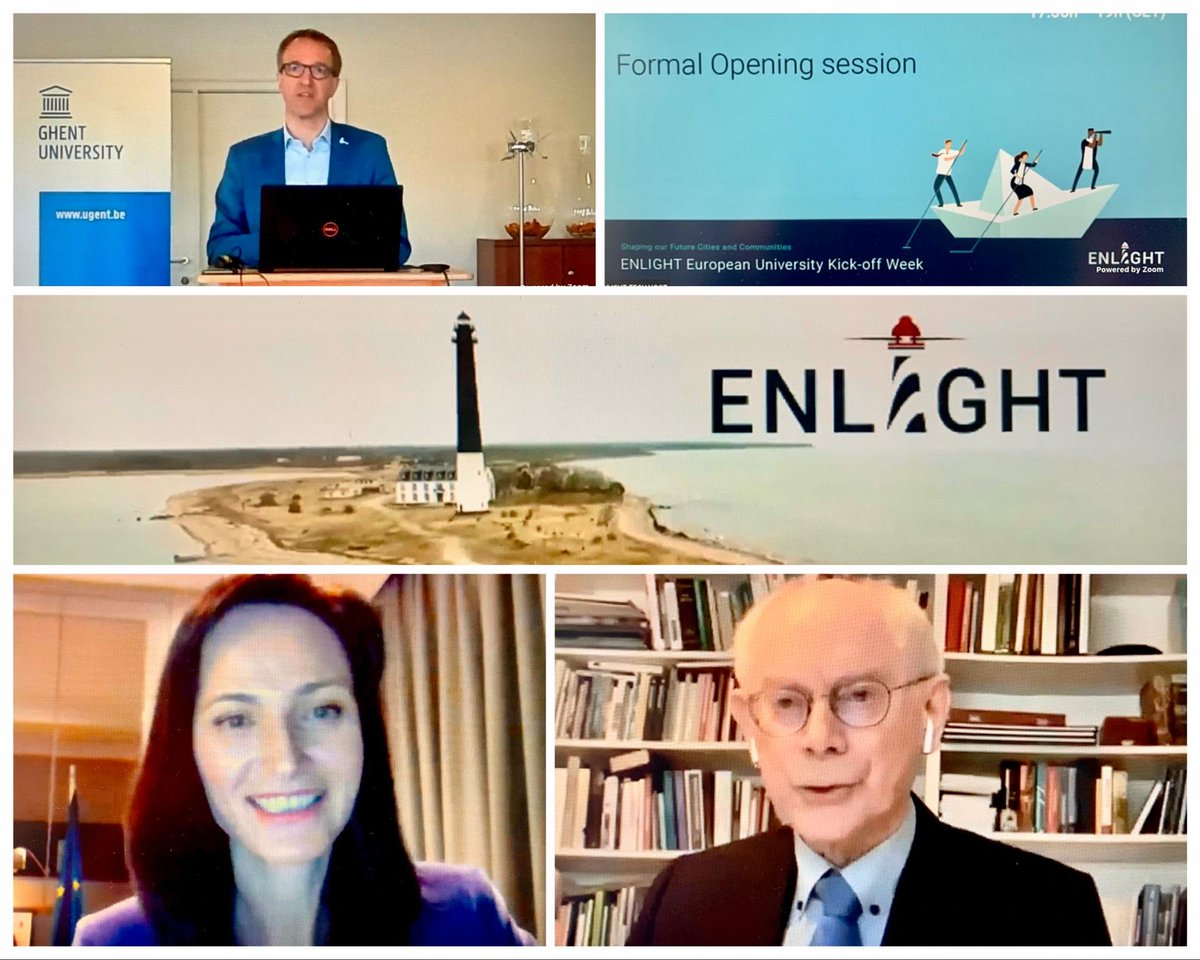 Thank you @rvdwalle for the kick-off meeting of the #EuropeanUniversities Alliance #ENLIGHT. Together 🇪🇺 universities will: 🔸remove barriers to learning & R&I cooperation 🔸develop joint strategies 🔸support transformation of #highereducation bringing together #EEA & #ERA