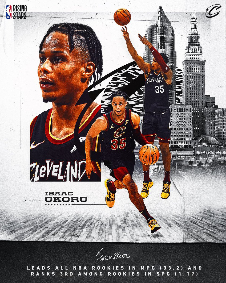 RETWEET to show support for @isaacokoro303 as a @NBAAllStar #RisingStar candidate! https://t.co/6r3BG449Do