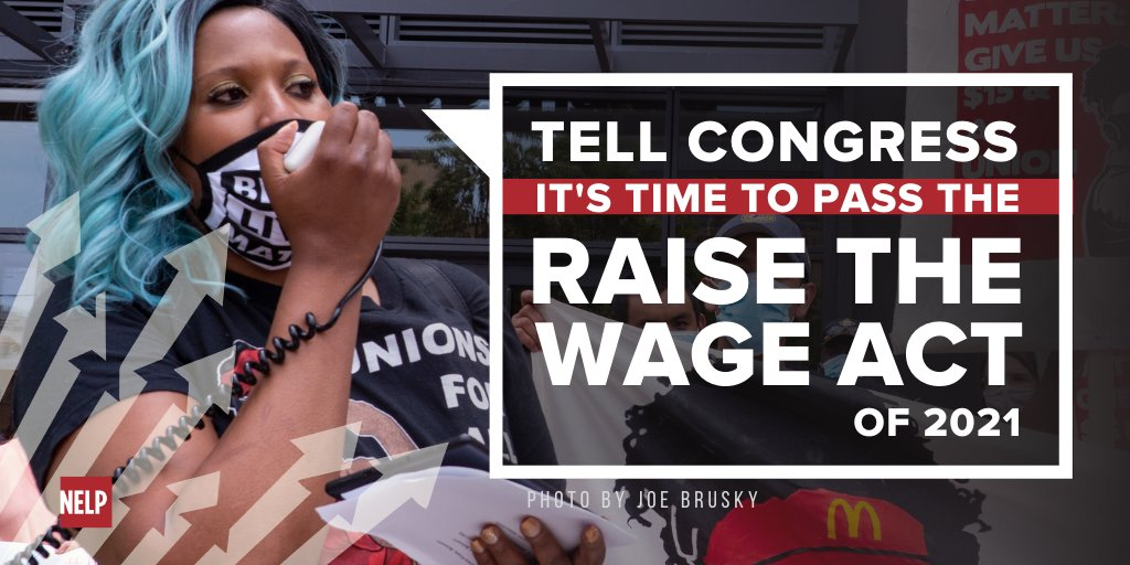 The 32 million workers who would benefit from the #RaiseTheWage Act need and are demanding $15 and #1FairWage, not excuses about a procedural rule that's rooted in white supremacy.   This is a racial justice issue. Tell your senators to pass $15! 888-639-5155