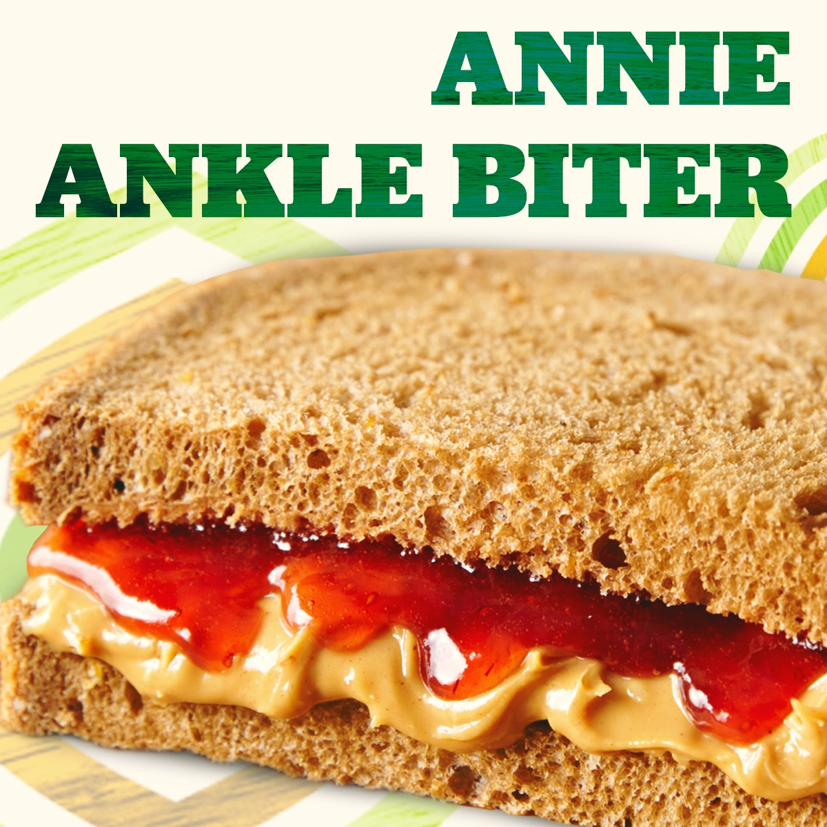 Celebrate #PeanutButterLoversDay with an Annie Ankle Biter for your little peanut.  Half a peanut butter and strawberry preserves sandwich on hearty 9-grain bread.    #eriksdelicafe #food #lunch #dinner #delicious #sandwich #bayarea #peanutbutter #peanutbutterandjelly #kidsmeals