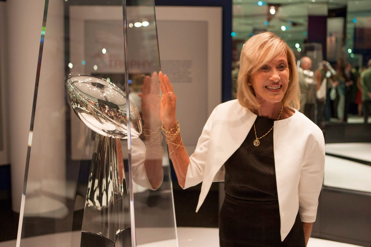 Today marks the beginning of Women's History Month! Here's to Norma Hunt, the only woman to attend every Super Bowl and an integral part of the NFL's history!