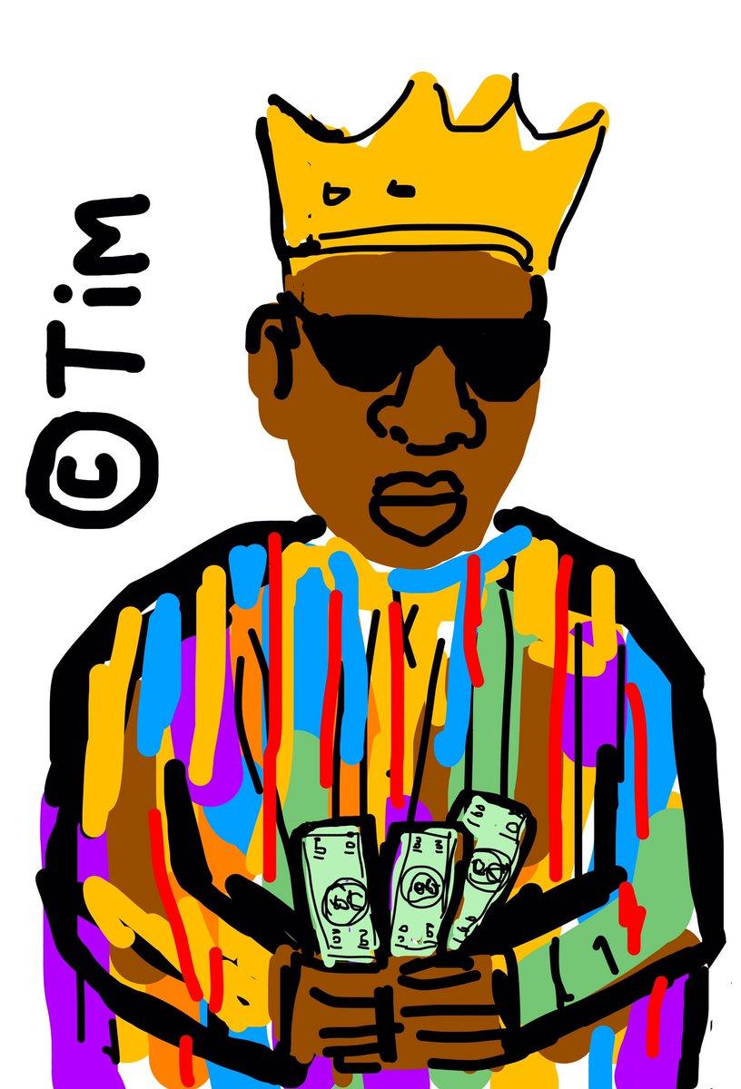 B.I.G paper. 💵🎤💰🎶  #90s #verzuz #biggie #oldschool #BadBoysForLife #biggiesmalls #rap #hiphopmusic #hiphop #art #Throwback #StreetArt #graffiti #2pac #digitalart #notoriousbig #puffdaddy #badboy #pdiddy #bboy #juicy #diddy #lilkim #vinylrecords #Dance #BiggieIGotAStoryToTell