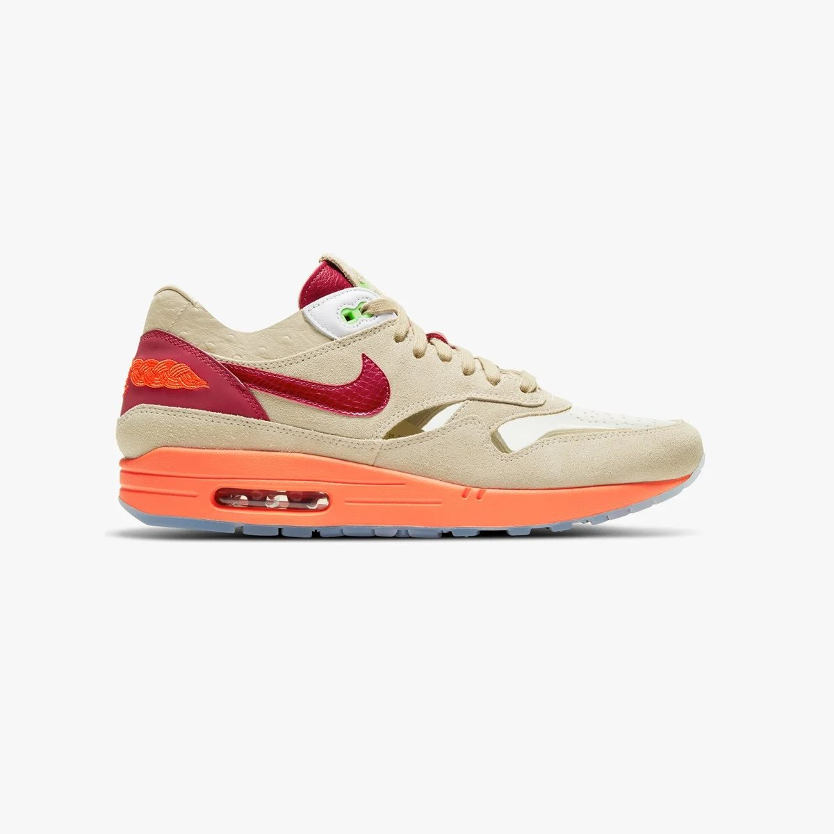 SNS online raffle live for the Clot x Nike Air Max 1