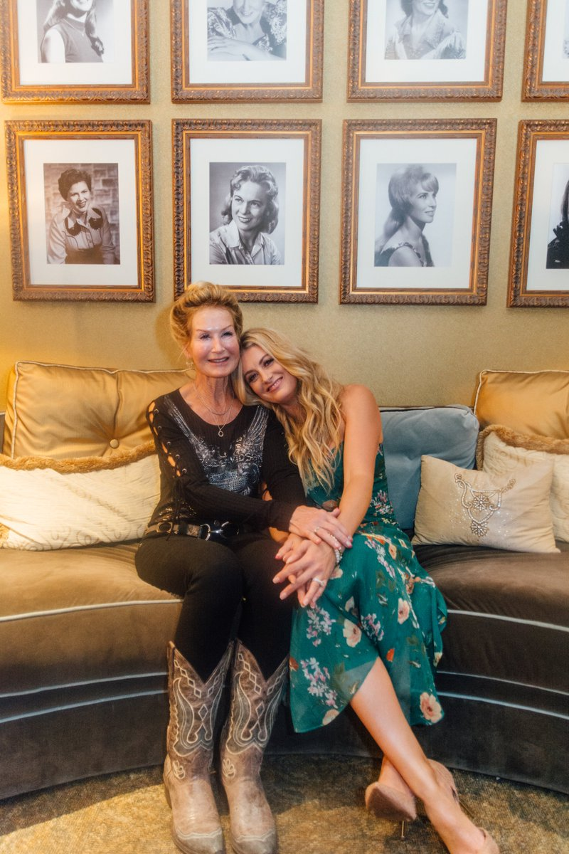 Happy #WomensHistoryMonth! The @opry's Women in Country Dressing Room always makes me feel connected to the powerful & inspiring women who made a way for us women in the Country Music industry. I loved getting to spend time in here with my favorite woman, my mama!❤️