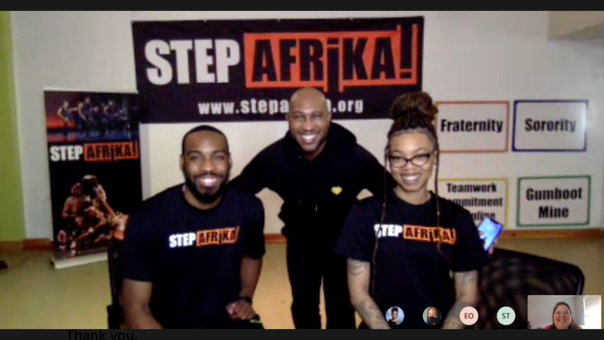 RT <a target='_blank' href='http://twitter.com/wakefieldchief'>@wakefieldchief</a>: Wonderful workshop with Step Afrika! today! Thanks for getting us moving and stepping. <a target='_blank' href='https://t.co/znt5GoZoyd'>https://t.co/znt5GoZoyd</a>
