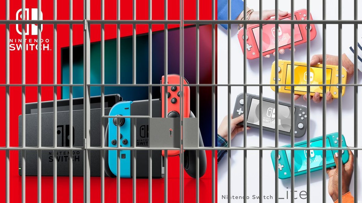 #FreeSwitch  idk what they did but I envision all Nintendo consoles to be lil babies so help.