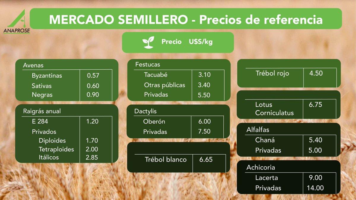 test Twitter Media - 🌱 Realizamos la primer actualización del año de los Precios de Referencia de las principales semillas, con el fin de brindar información de calidad.  👉🏼 https://t.co/Ssttr4lBP2 https://t.co/7h3AuueoLG