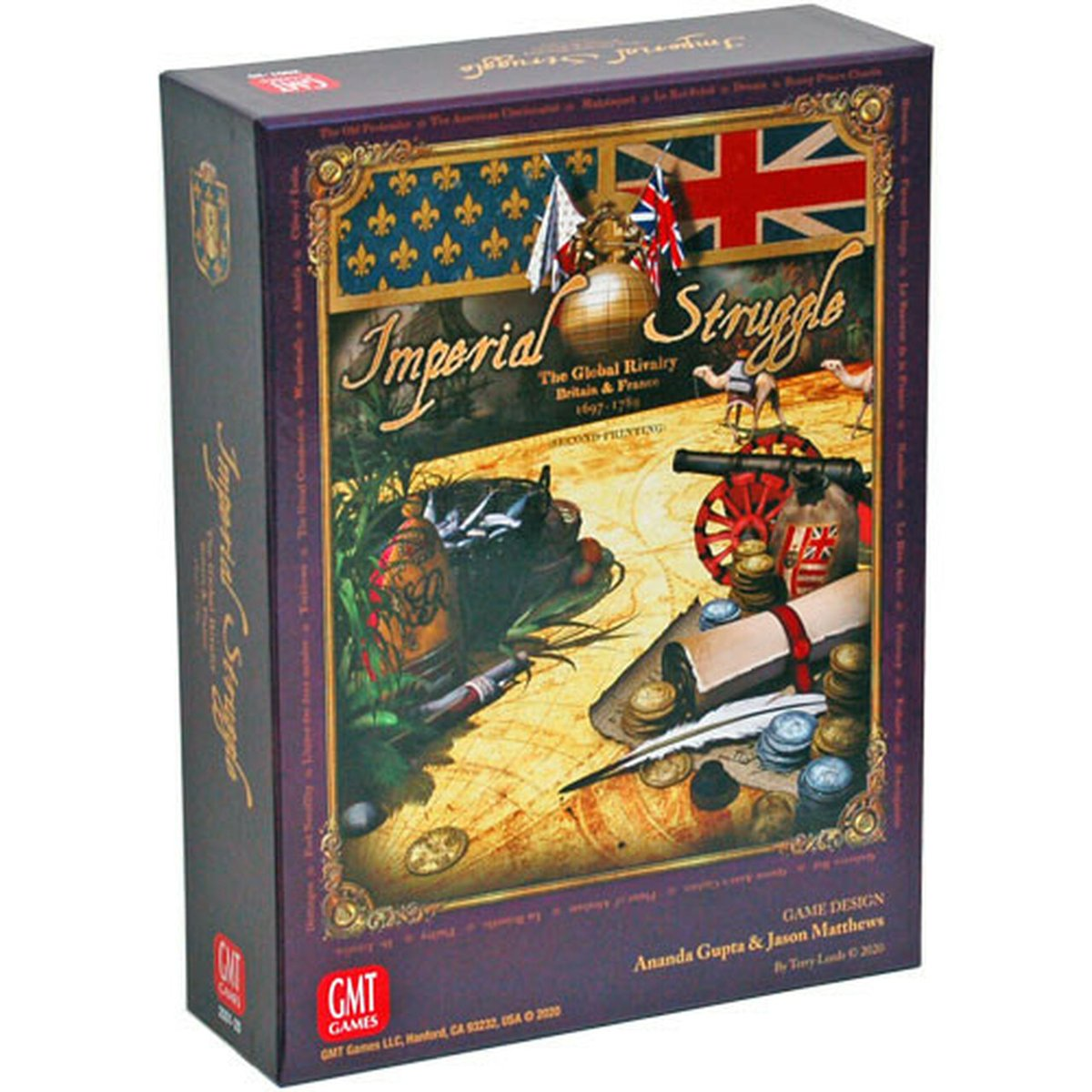 Game Nerdz Deal of the Day  Imperial Struggle (2nd Printing) (Deal Of The Day)  Save $27.03, pay only $31.97  #ad   81 in stock right now!