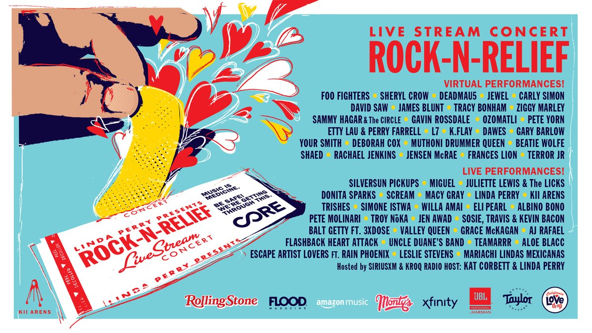 Foo Fighters, Gavin Rossdale And More To Play Rock 'N' Relief Benefit Show