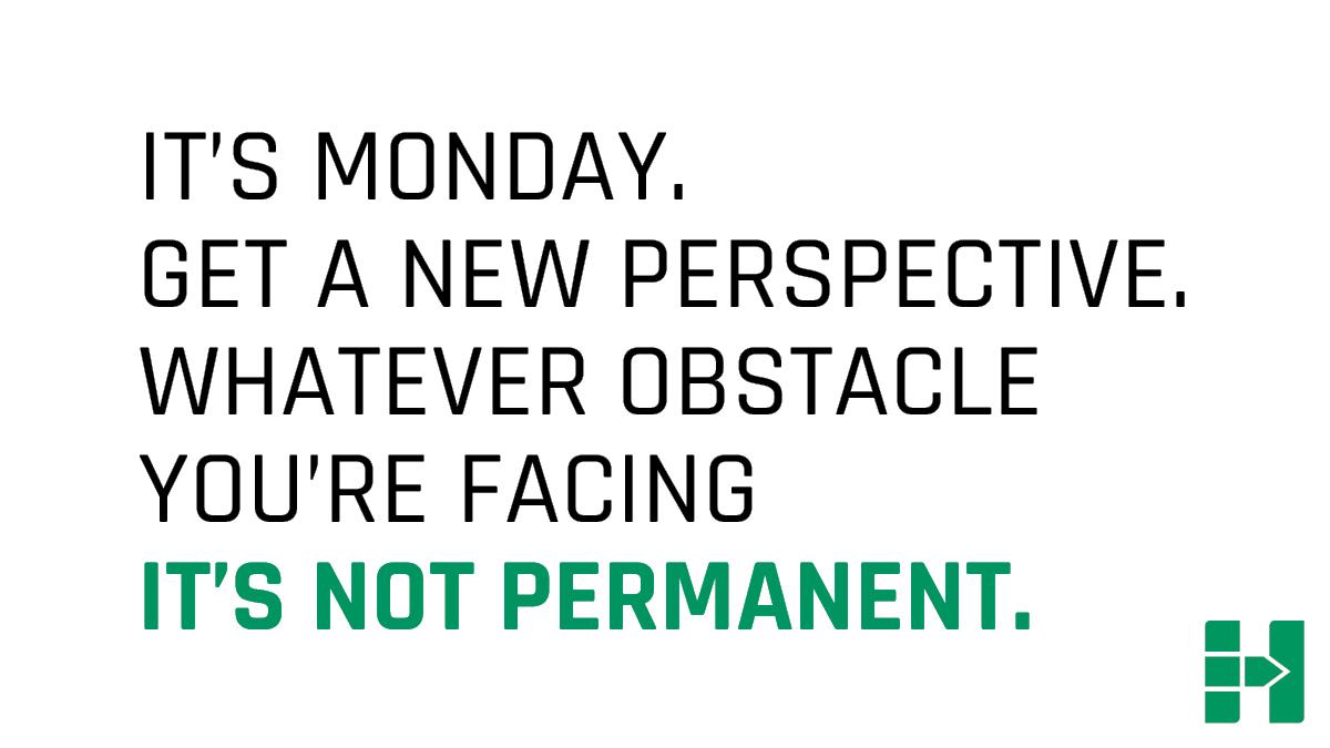 Aaaaand we're back! #MondayMotivation