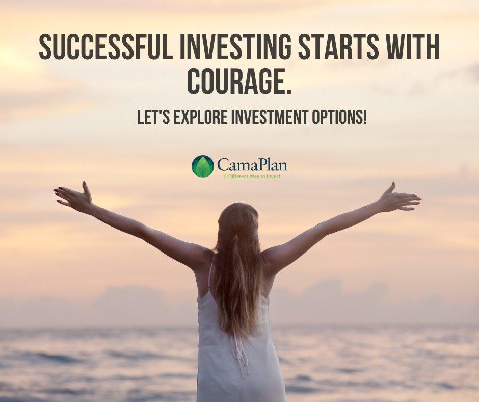 Let's start the week right! Happy Monday!  #Monday #Mondaymotivation #letsstart #rightweek #courage #investment #bethebank #CamaPlan